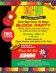 East Side Cinco de Mayo Block Party  @ Payne Ave and Jenks Ave